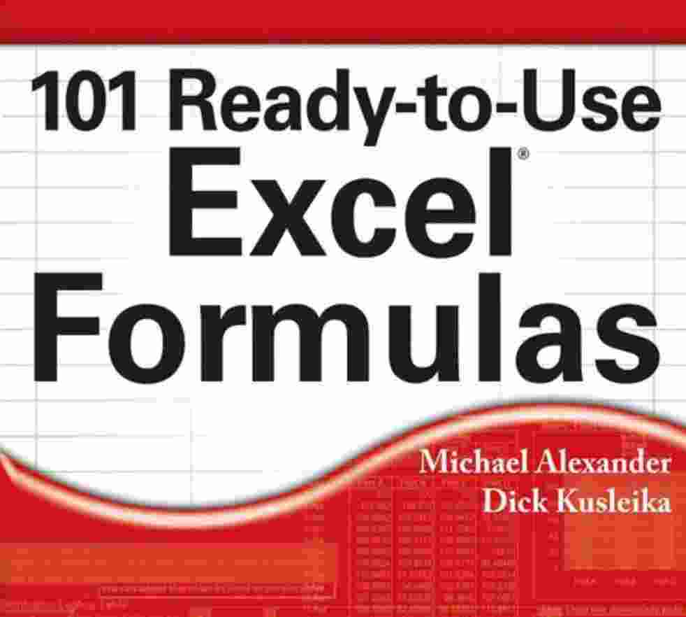 20 Ready to Use Excel Formulas by Michael Alexander   Computer PDF