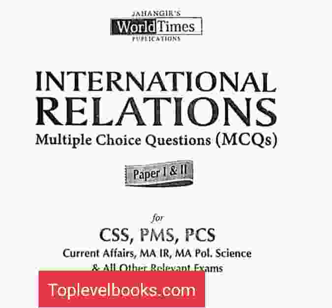 International Relationship Multiple Choice MCQS By WORLD times JWT