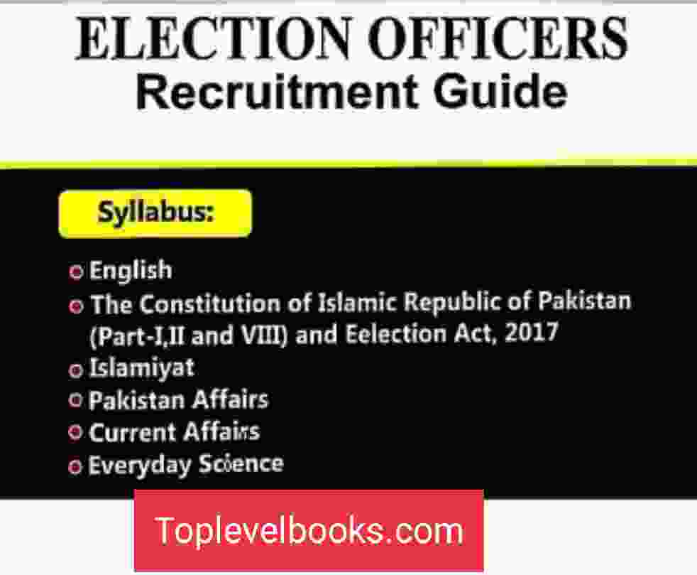 Election Oficer Recruitment Guide
