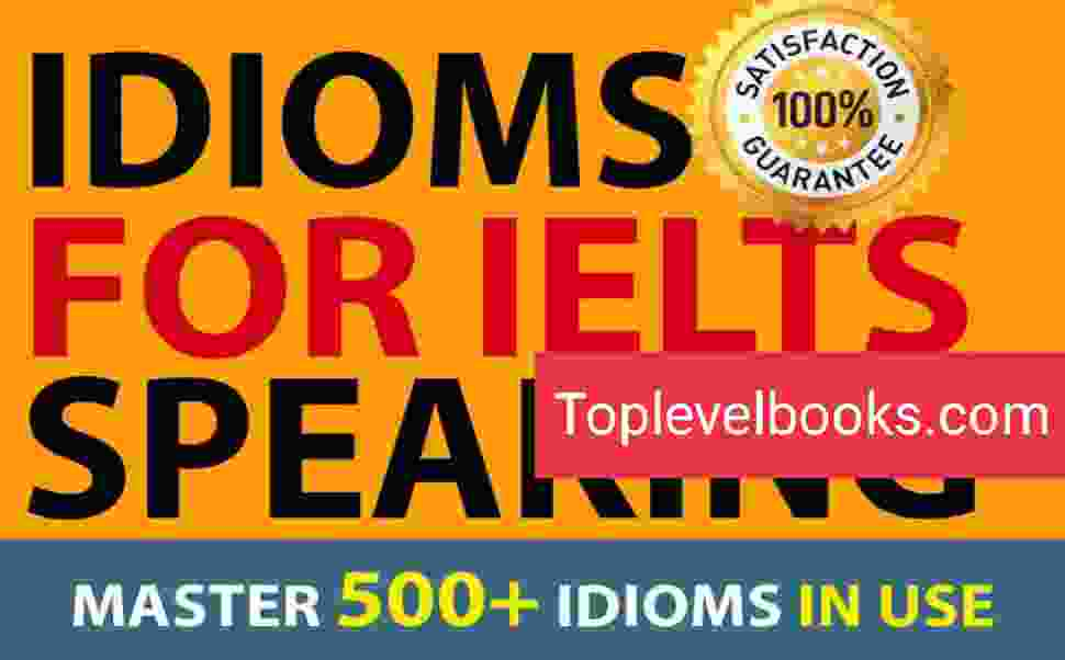 Idioms For IELTS Speaking PDF