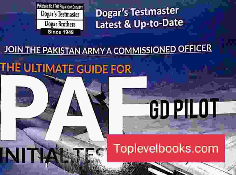 PAF GDP Test Preps by Dogar Testmaster Complete PDF