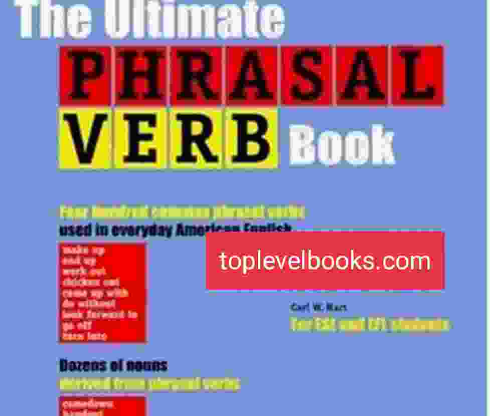The Ultimate PHRASAL VERBS book Complete In PDF