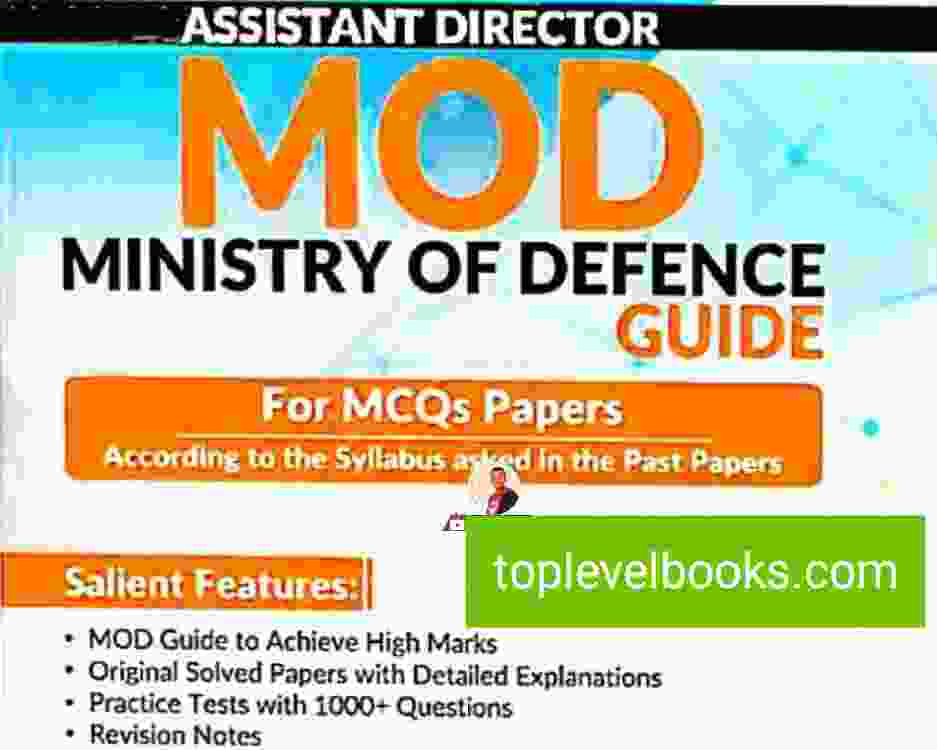 Dogar Assistant Director ministry of defense Guide PDF