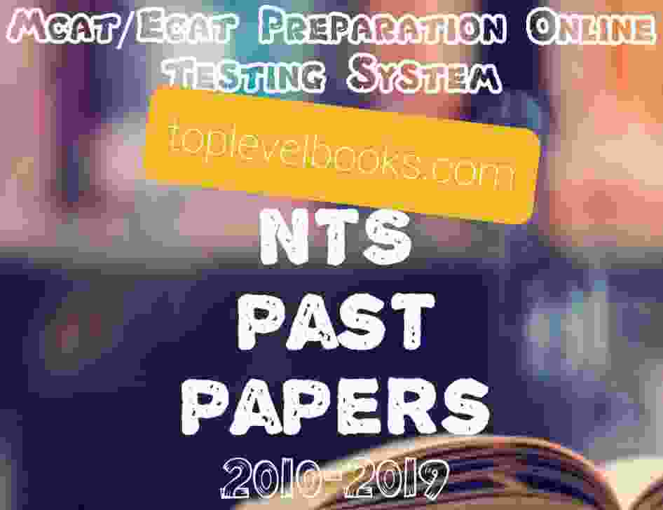 NTS past paper Form 2010 to 2019 complete pdf
