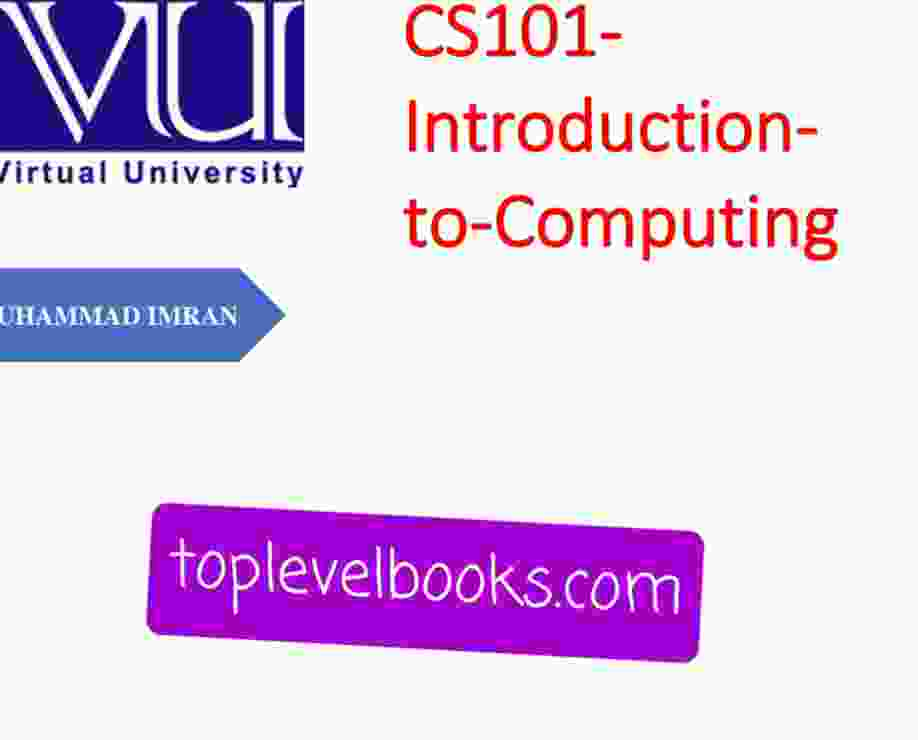 CS101 MCQs Short Notes Highlights Colors & Past Papers
