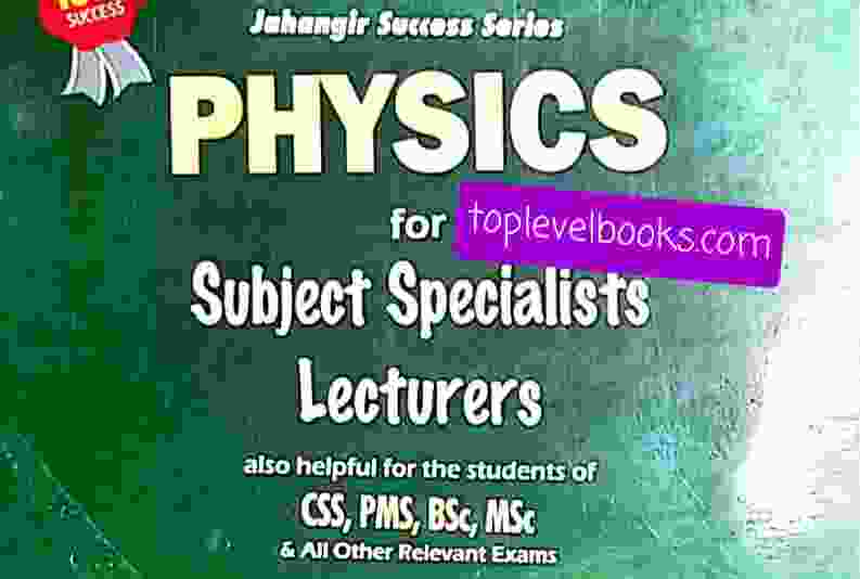 physics For Subject Specialist lecturer